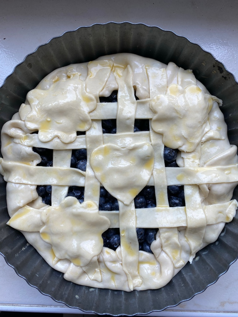 Pie before baking